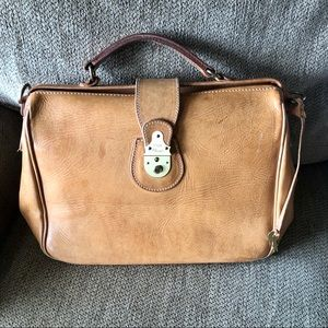 Vintage Genuine Leather Bree Classic Handbag Purse